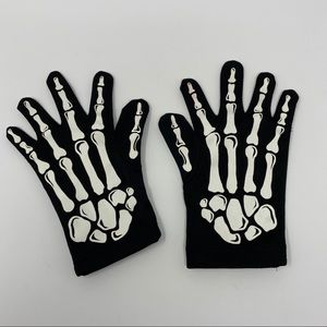 H&M Skeleton Gloves